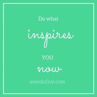 Do What inspires You